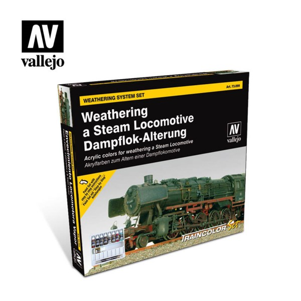 Train Color Set | Weathering Steam Dampflok