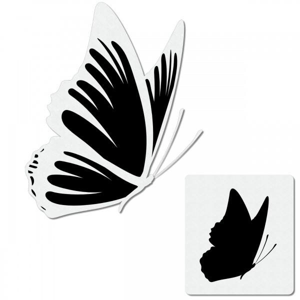 Butterfly #2 | Schmetterling Airbrush Schablone ca. A6