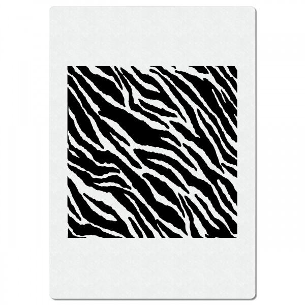 Zebra Fellmuster | Struktur Airbrush Schablone ca.A4