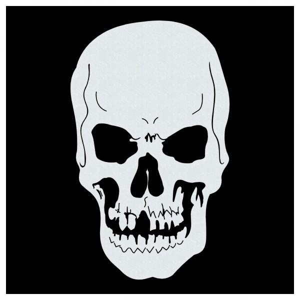 Skull #03 | Totenkopf Airbrush Schablone ca. 19 x 20 cm