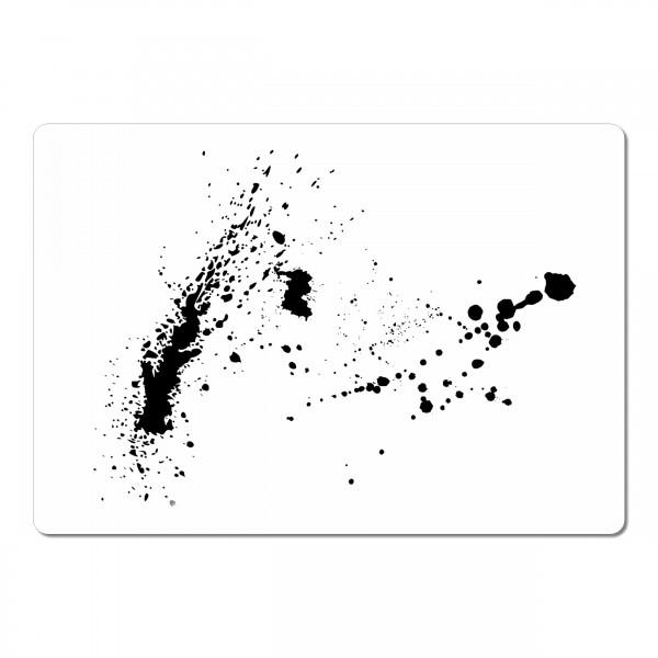 Splash #4 | Effekt & Textur Airbrush Schablone ca. A5