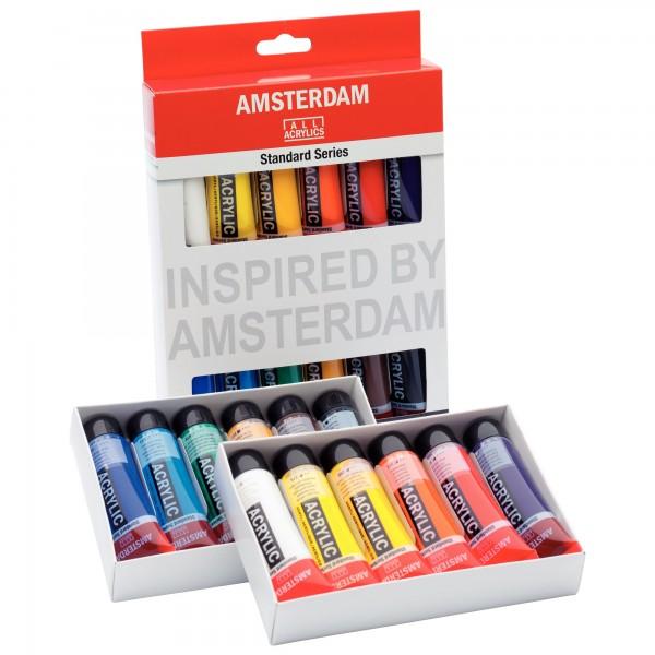 AcrylfarbenSet Amsterdam | 12x 20ml
