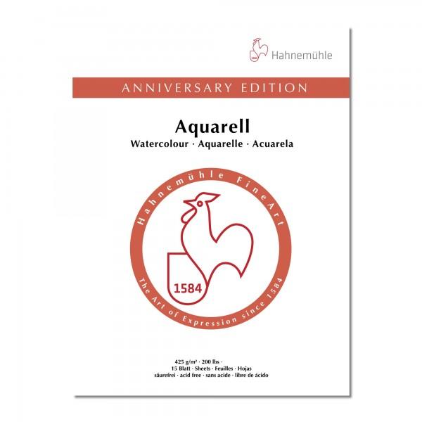 ANNIVERSARY edition | Aquarellblock 425gr. | Hahnemühle