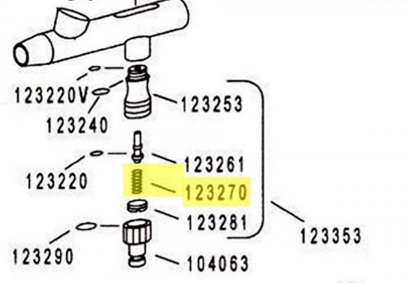 Feder für Ventil | H&S-Image