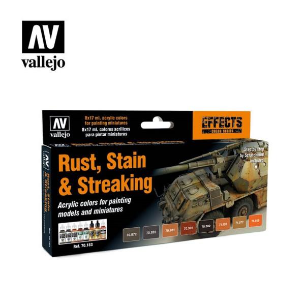 Rust, Stain & Streakinking | Vallejo Effects