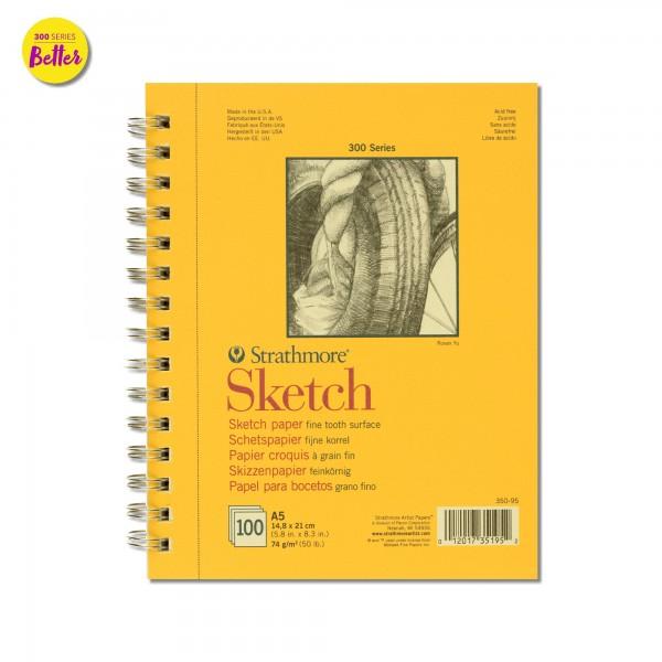 Zeichenpapier Sketch Artist Paper 300   Strathmore