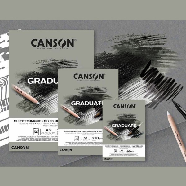 Mix Media Grey | Graduate Serie by Canson