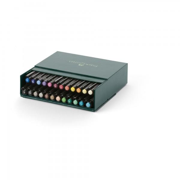 24er Atelier Box Set Tuschestifte | Pitt Artist Pen | Faber Castell