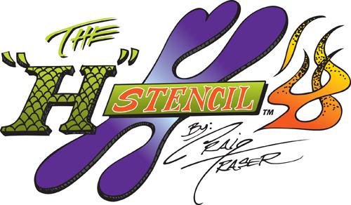 Artool | H Stencil  by Craig Fraser-Image