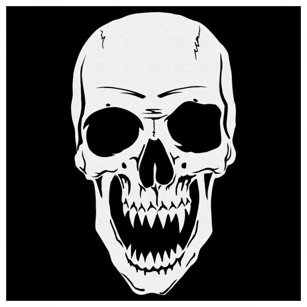 Skull #27   Totenkopf Airbrush Schablone ca. A4