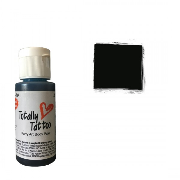 Bodacious Black | Badger Airbrush Tattoo Farbe-Image