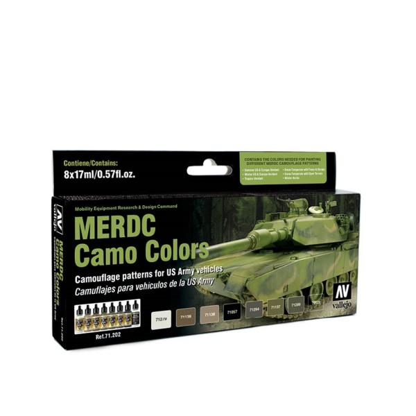 AFV Color | MERDC Camo Colors