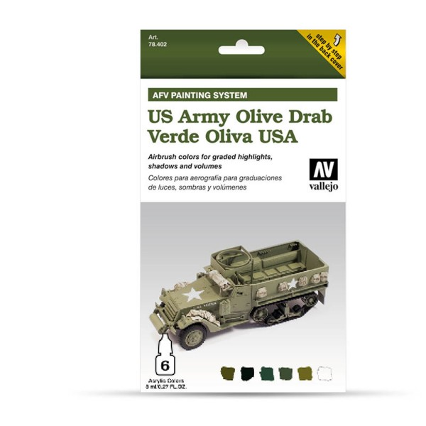 AFV Armour System | US Army Olive Drab