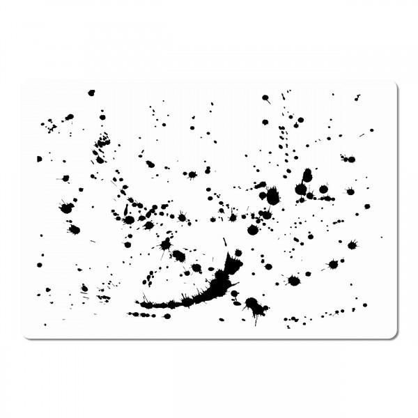 Splash #1 | Effekt & Textur Airbrush Schablone ca. A5