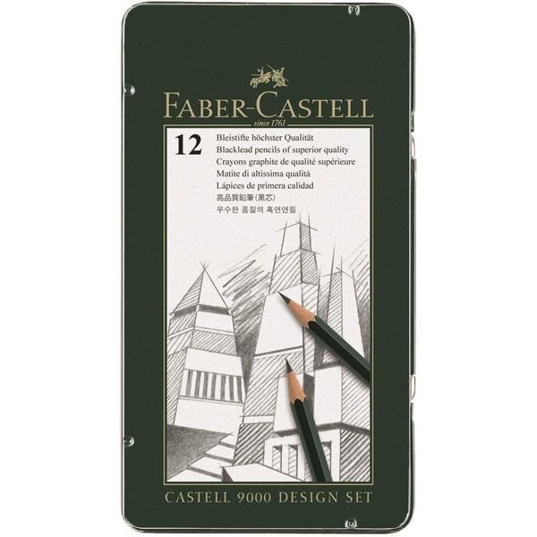 Faber Castell 9000 | 12er Bleistift Design Set-Image