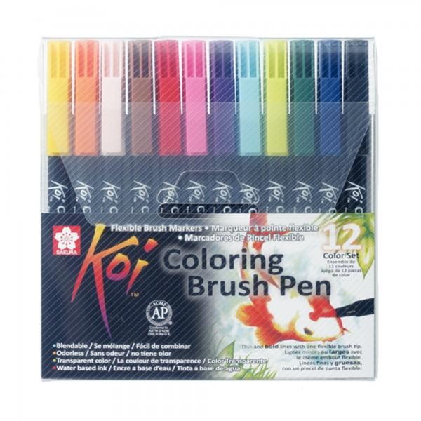 Koi Color   Brush Pen Set Auswahl