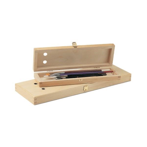 Pinselbox aus Holz
