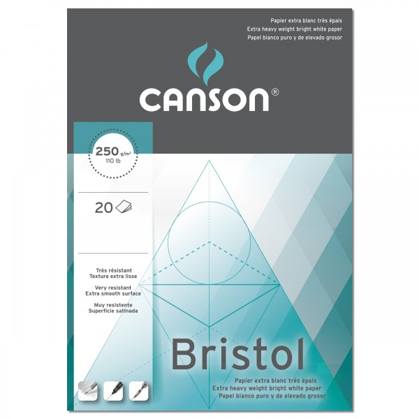 Bristol Block 250gr.   Canson