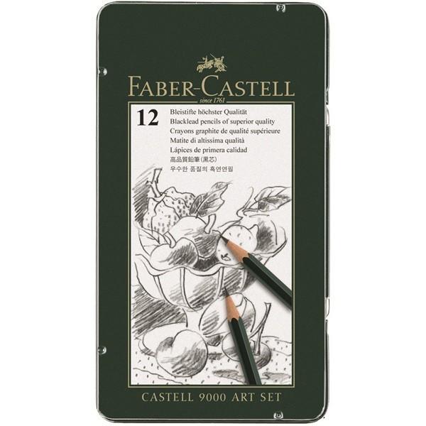 Faber Castell 9000 | 12er Bleistift ART Set-Image