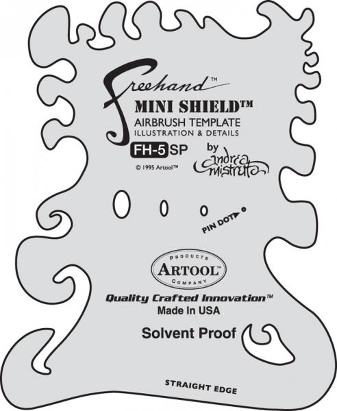 Artool | Freehand | FH 5 | Mini Shield-Image