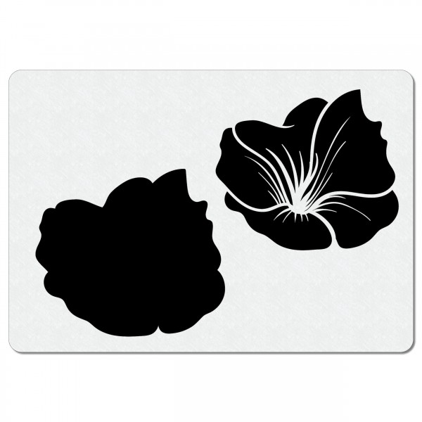 Blume - Blüten #01   Airbrush Schablone A5