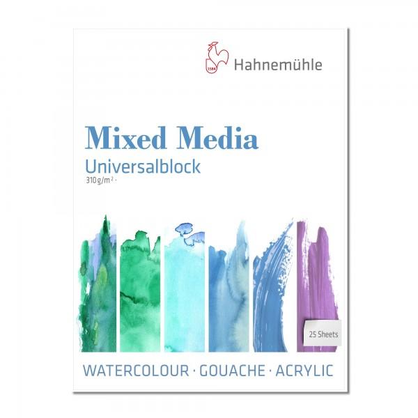 Mixed Media Universalblock | 310gr. / 25 Blatt | Hahnemühle