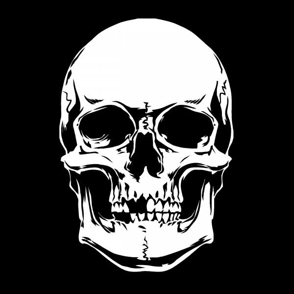 Skull #16 | Totenkopf Airbrush Schablone A5