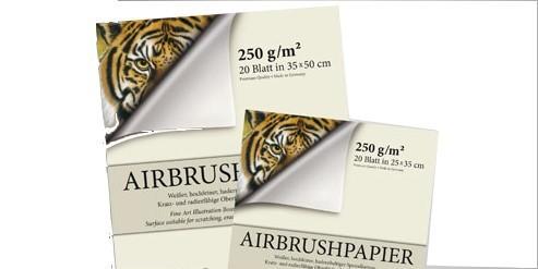 Airbrush Block Premium | 20 Blatt-Image