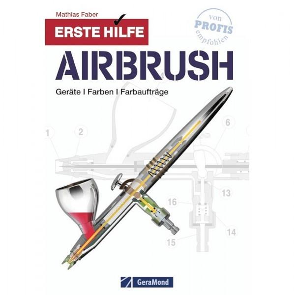 Airbrush Erste Hilfe  Fachbuch-Image
