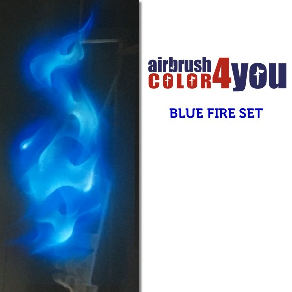 BLUE Flames | AirbrushColor4you