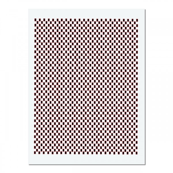 Carbon Fiberglas 1 | Airbrush Schablone ca A4 | 4,5 x 3mm Raster