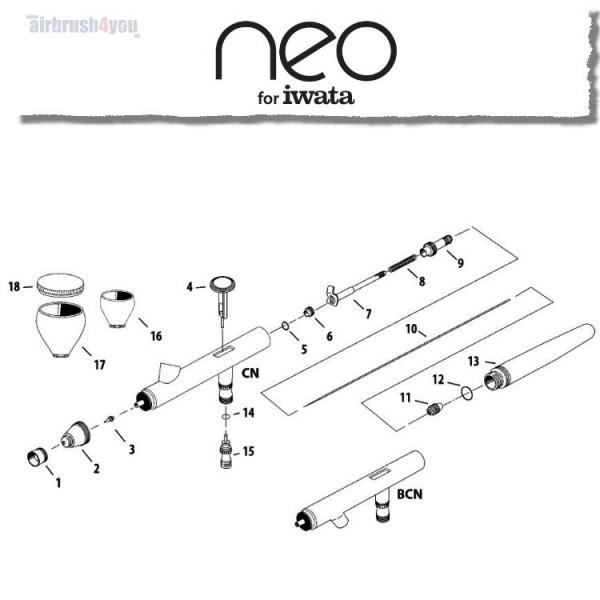 #1 | Nadelkappe | neo CN / BCN-Image