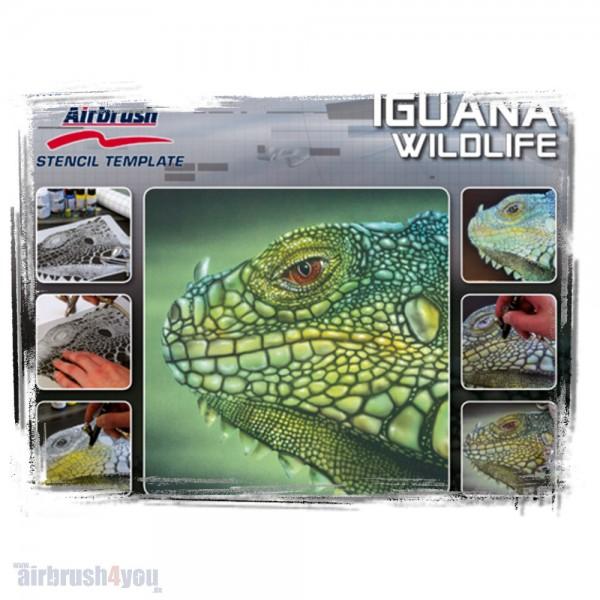 H & S Stencil | Leguan Wildlife-Image
