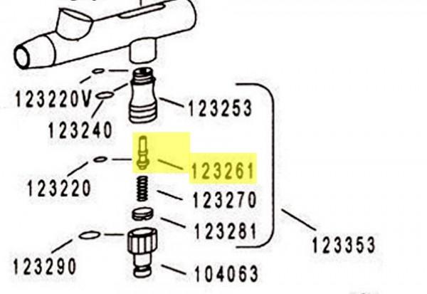Ventilstange mit O - Ring | H&S-Image