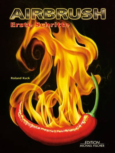 Airbrush - Erste Schritte | Fachbuch mit DVD-Image