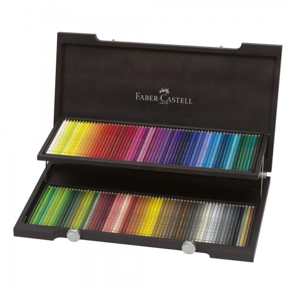 Polychromos | 120 Farbstifte im Holzkoffer