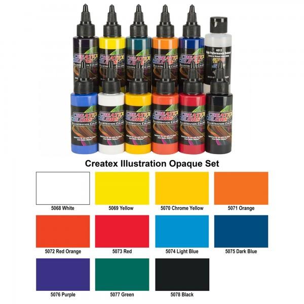 All Opak Color Set | Illustrations Color