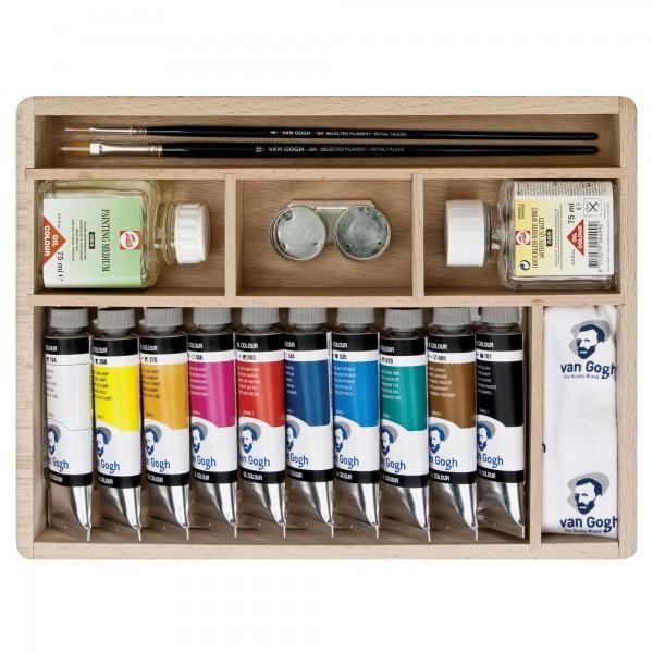 Van Gogh Ölfarben Set | Malkasten Basis