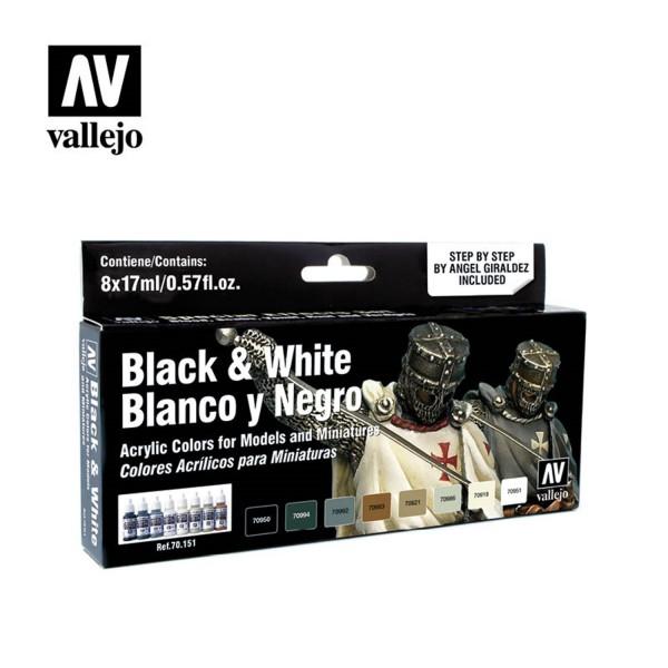 Black & White | Vallejo