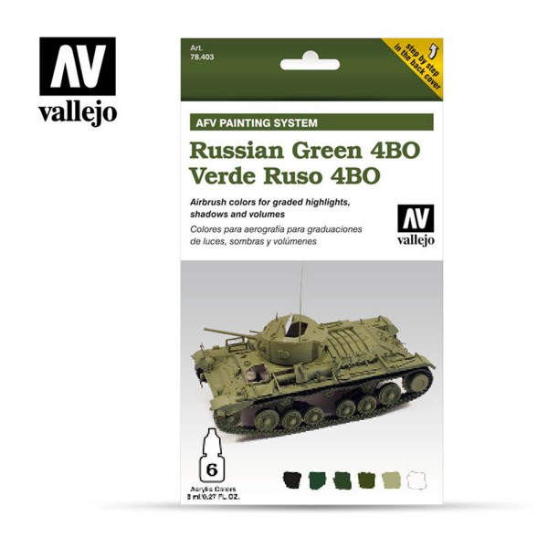 AFV Armour System | Russian Green 4BO