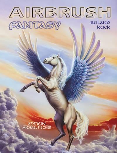 Airbrush | Fantasy Fachbuch mit DVD-Image