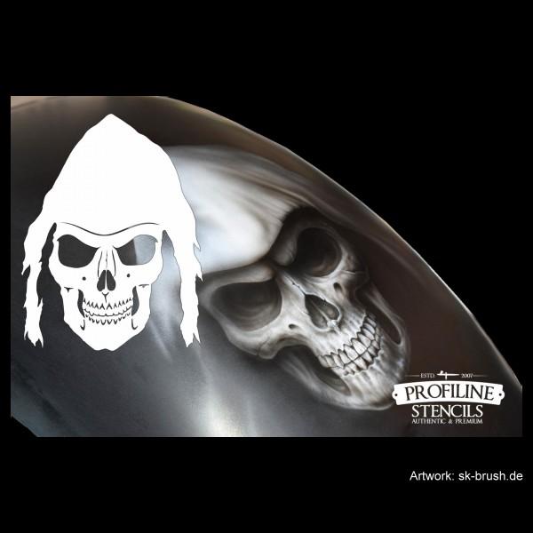 Reaper Skull | Airbrush Schablone | ca. 25 x 19cm