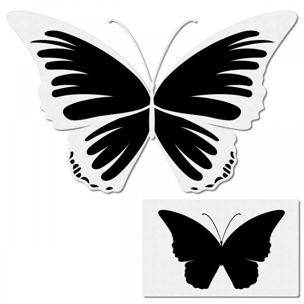 Butterfly #5 | Schmetterling Airbrush Schablone A6