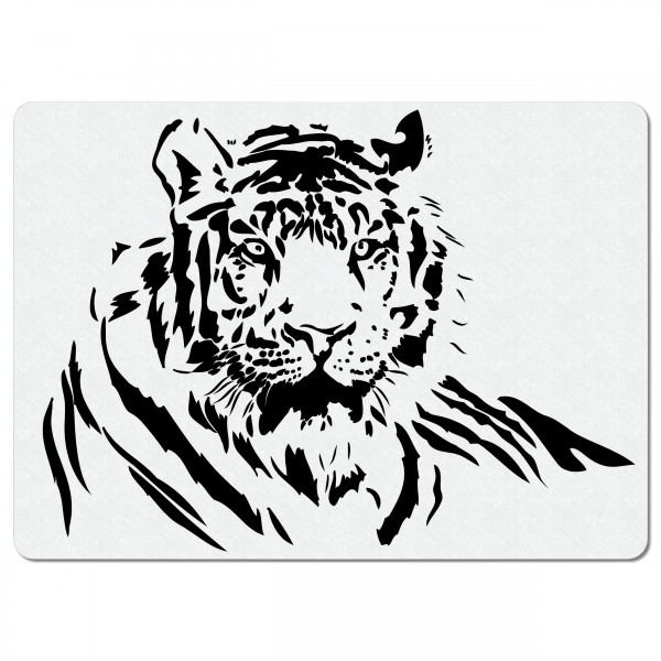 Tiger | Airbrush Schablone ca.A4