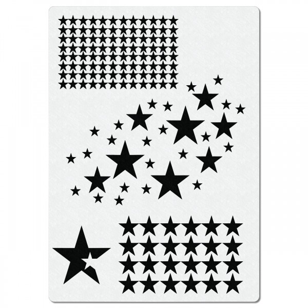 Sterne #300 | Airbrush Schablone | ca.20 x 28cm