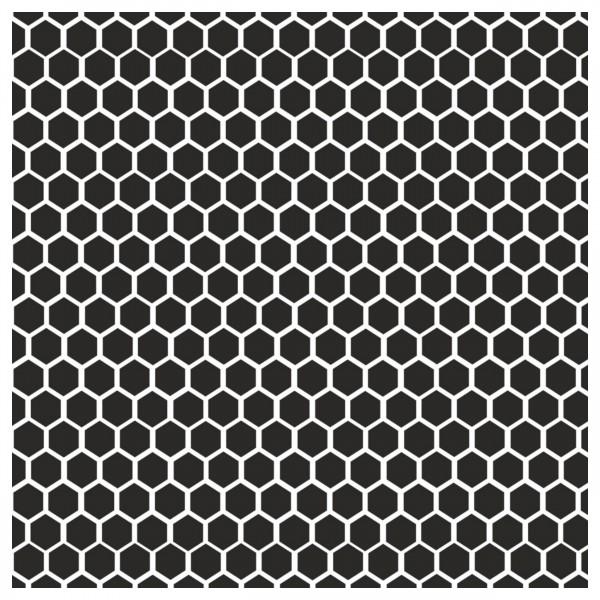 Waben #2 | Airbrush Schablone ca. 18 x 29 cm | Honeycomb Stencil