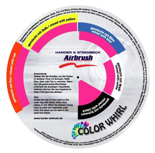 H & S | Color Whirl | Farbmischscheibe 18cm-Image