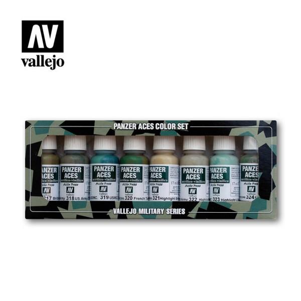 Allied Tank | Vallejo Panzer Aces Set