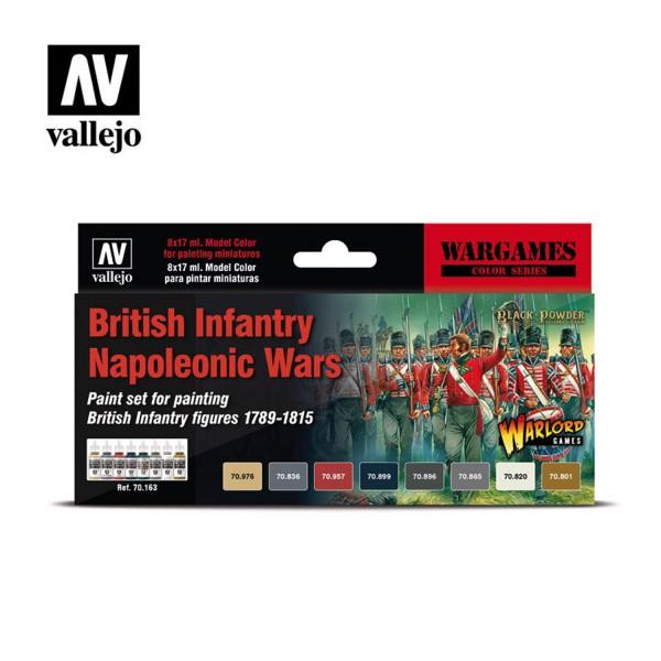 British Infantry | Vallejo