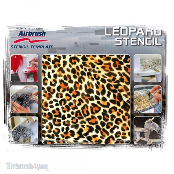H & S Stencil | Leopard-Image